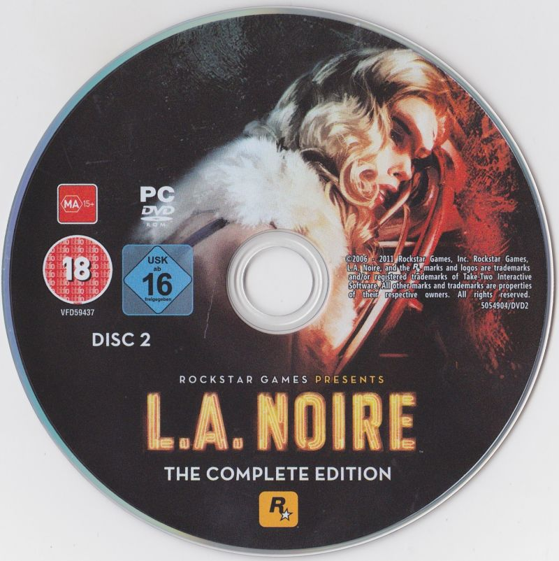 L.A. Noire: The Complete Edition Windows Media Disc 2