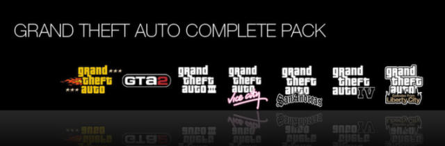 Grand Theft Auto Complete Pack Windows Front Cover