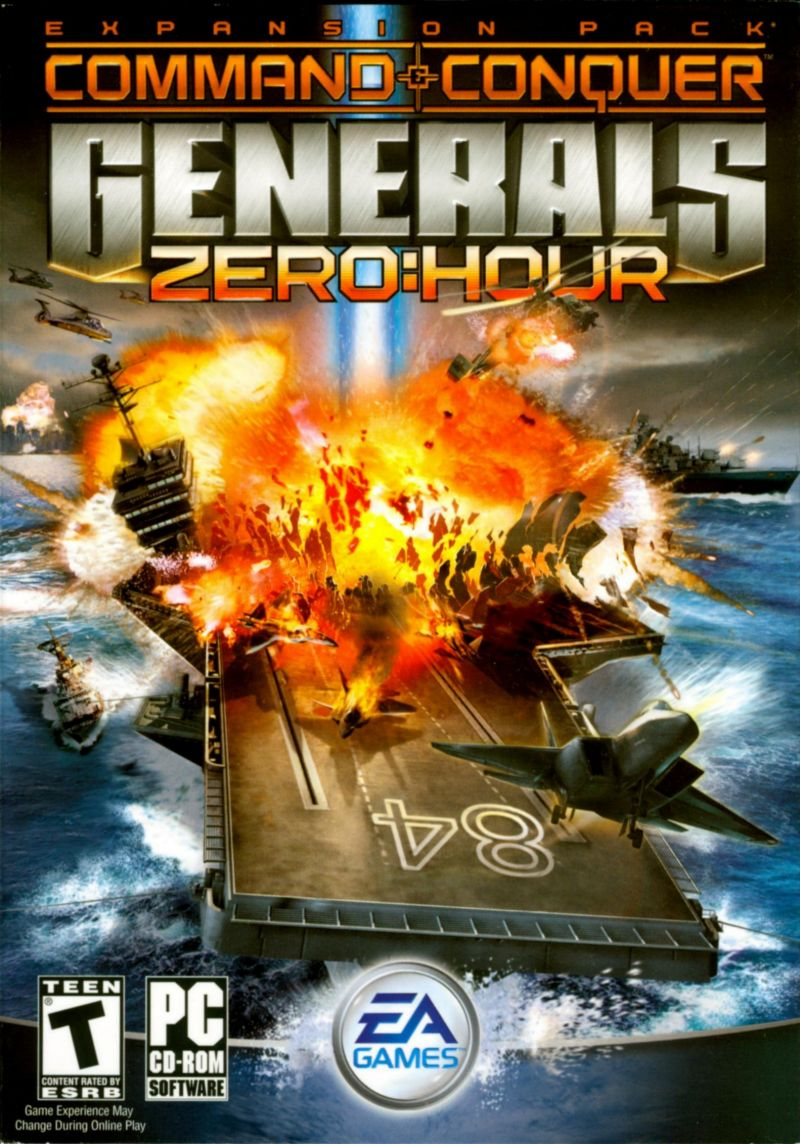 Command & Conquer: Generals - Zero:Hour for Macintosh ...
