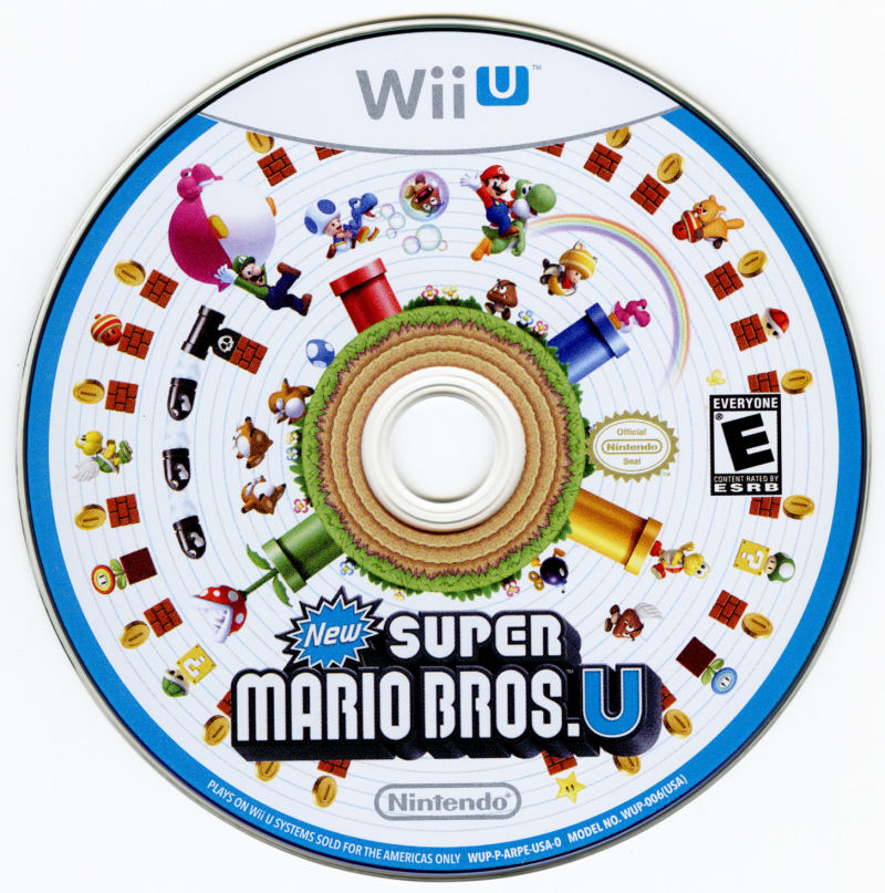 New Super Mario Bros. U Wii U Media