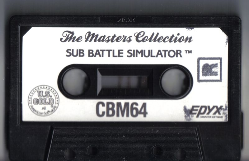 Sub Battle Simulator Commodore 64 Media
