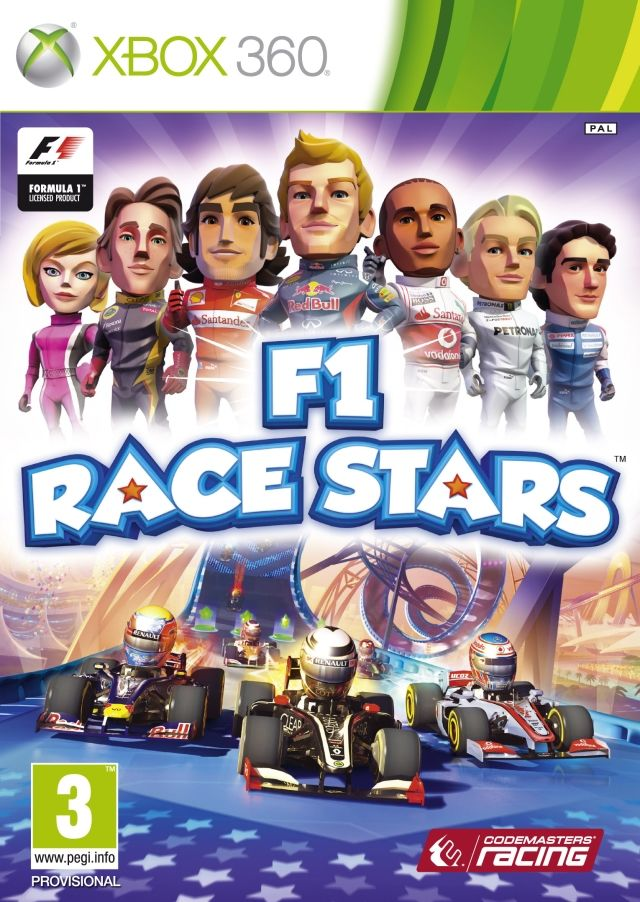 F1 Race Stars Xbox 360 Front Cover