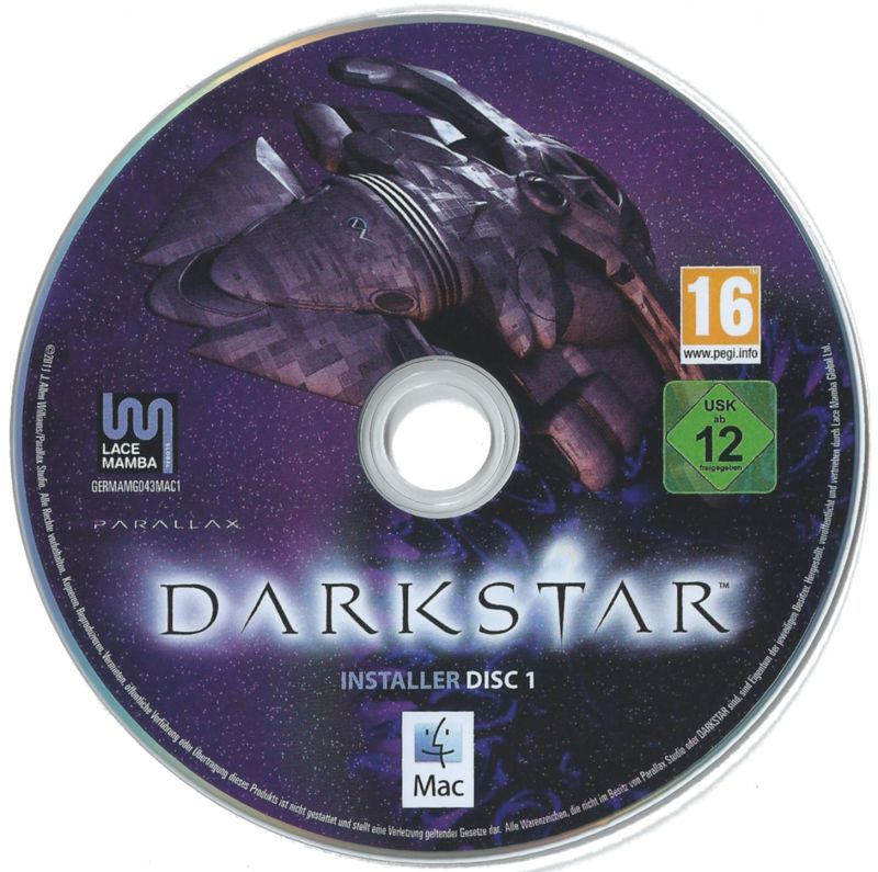 DARKSTAR: The Interactive Movie Macintosh Media Installer Disc 1 (Macintosh)