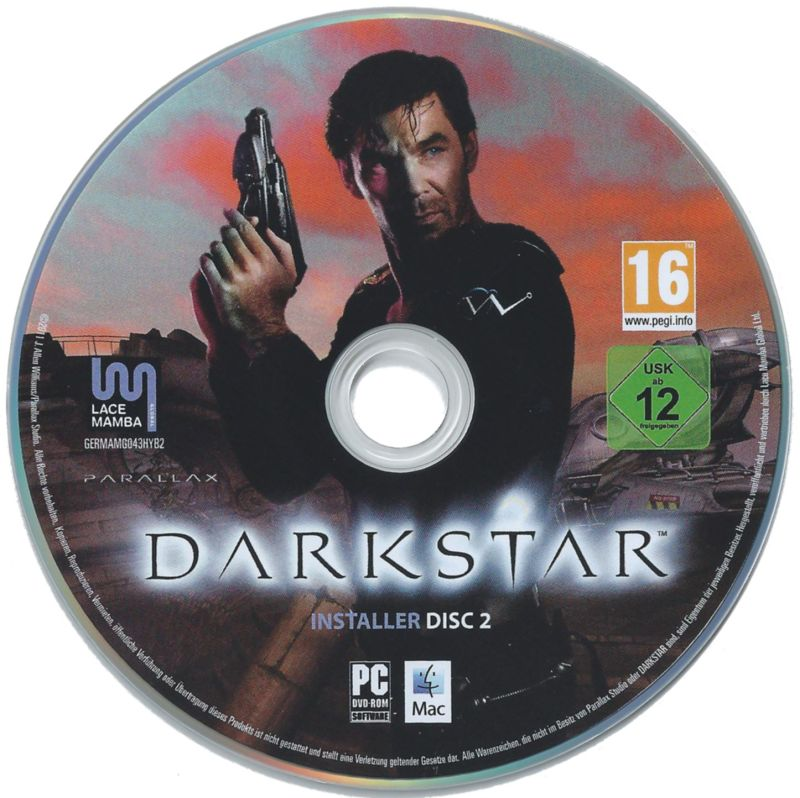DARKSTAR: The Interactive Movie Macintosh Media Installer Disc 2 (Windows/Macintosh)