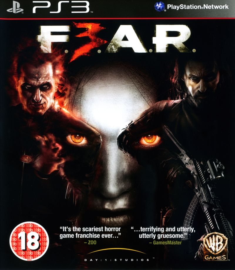 F.3.A.R. PlayStation 3 Front Cover