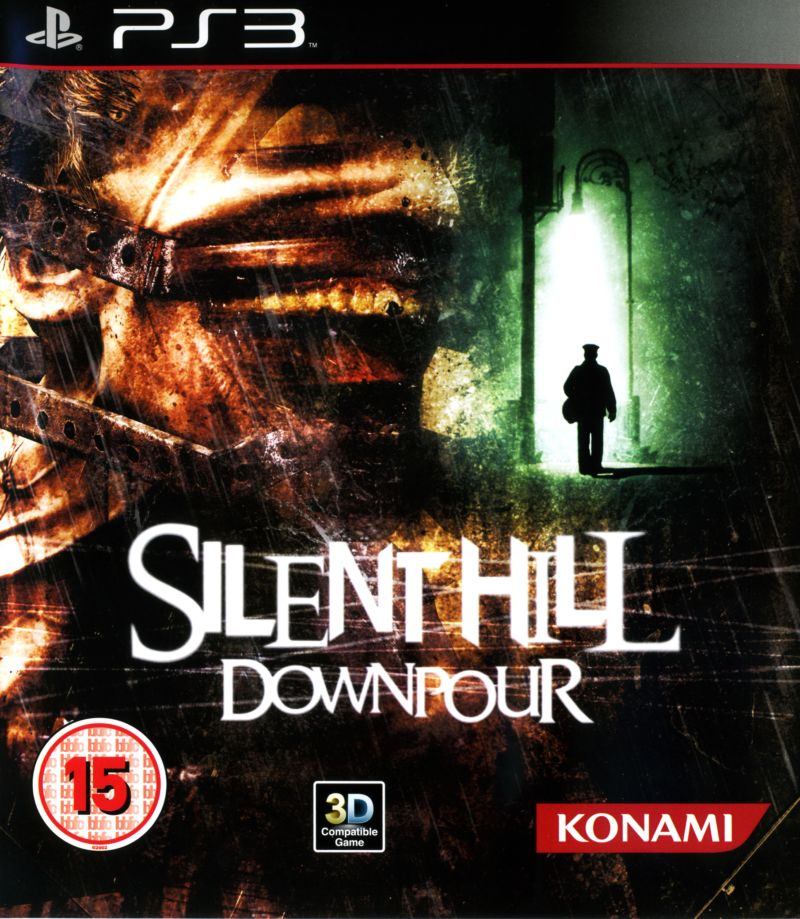 Silent Hill: Downpour PlayStation 3 Front Cover