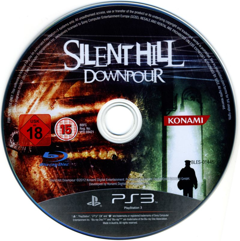 Silent Hill: Downpour PlayStation 3 Media