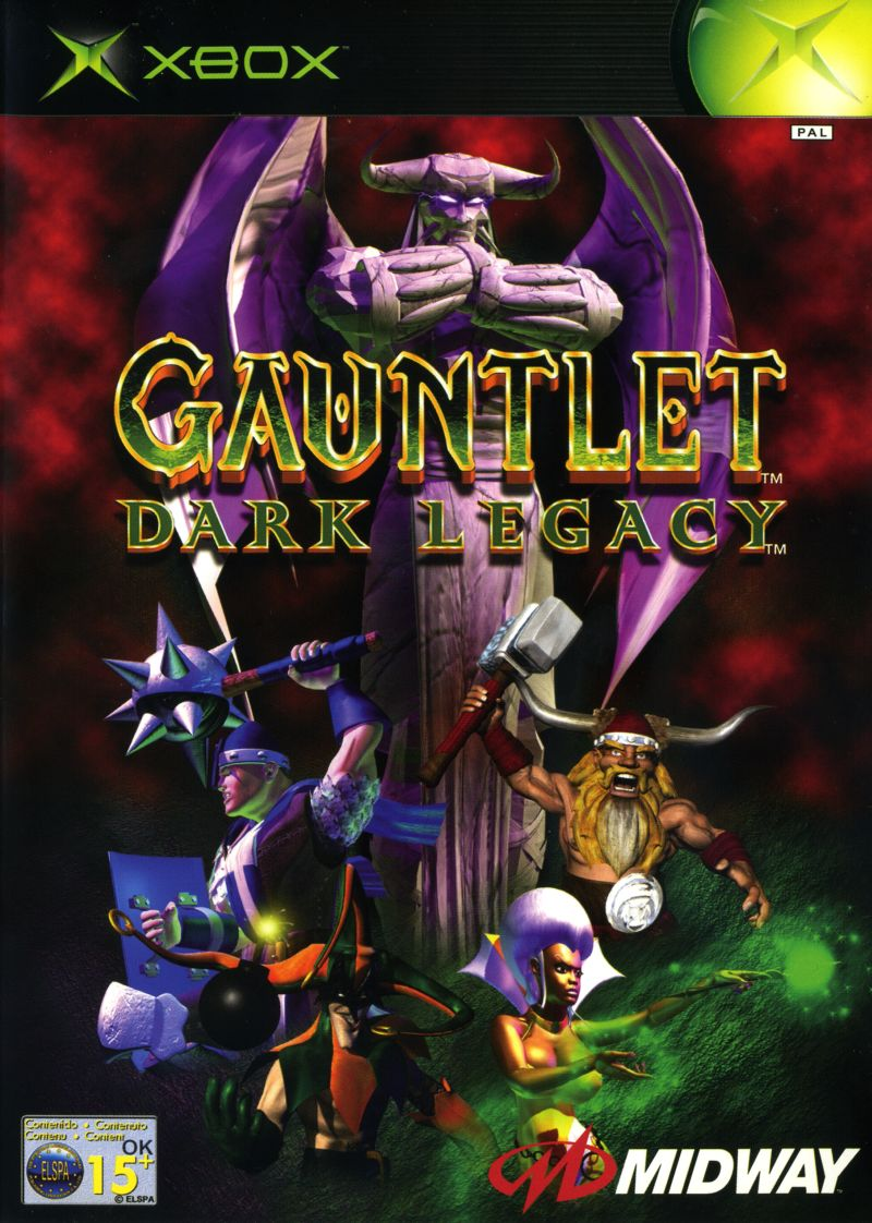 Gauntlet: Dark Legacy Xbox Front Cover