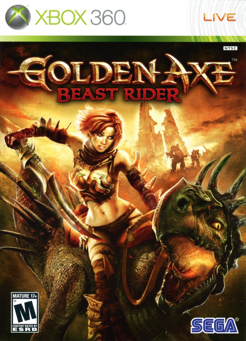 Golden Axe: Beast Rider Xbox 360 Front Cover