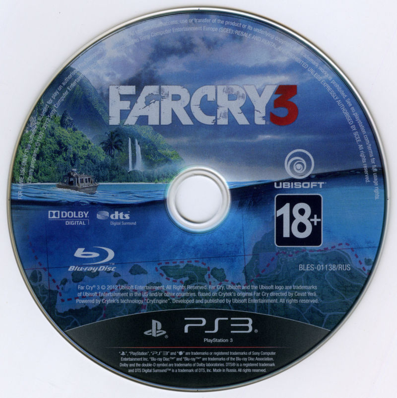 Far Cry 3 (The Lost Expeditions Edition) PlayStation 3 Media
