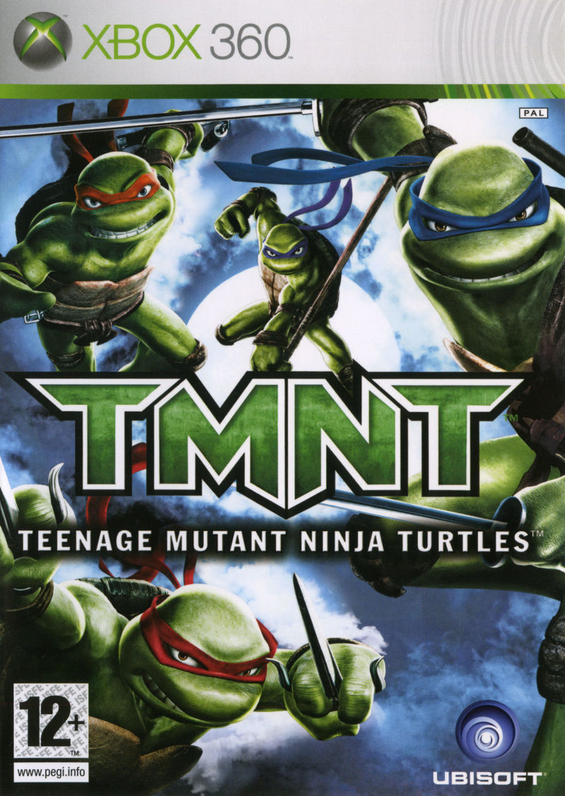 TMNT Xbox 360 Front Cover