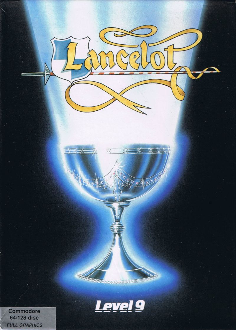 Lancelot Commodore 64 Front Cover