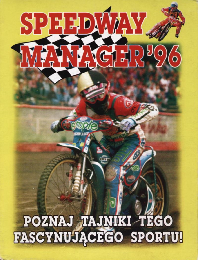 Speedway Manager '96 DOS Front Cover