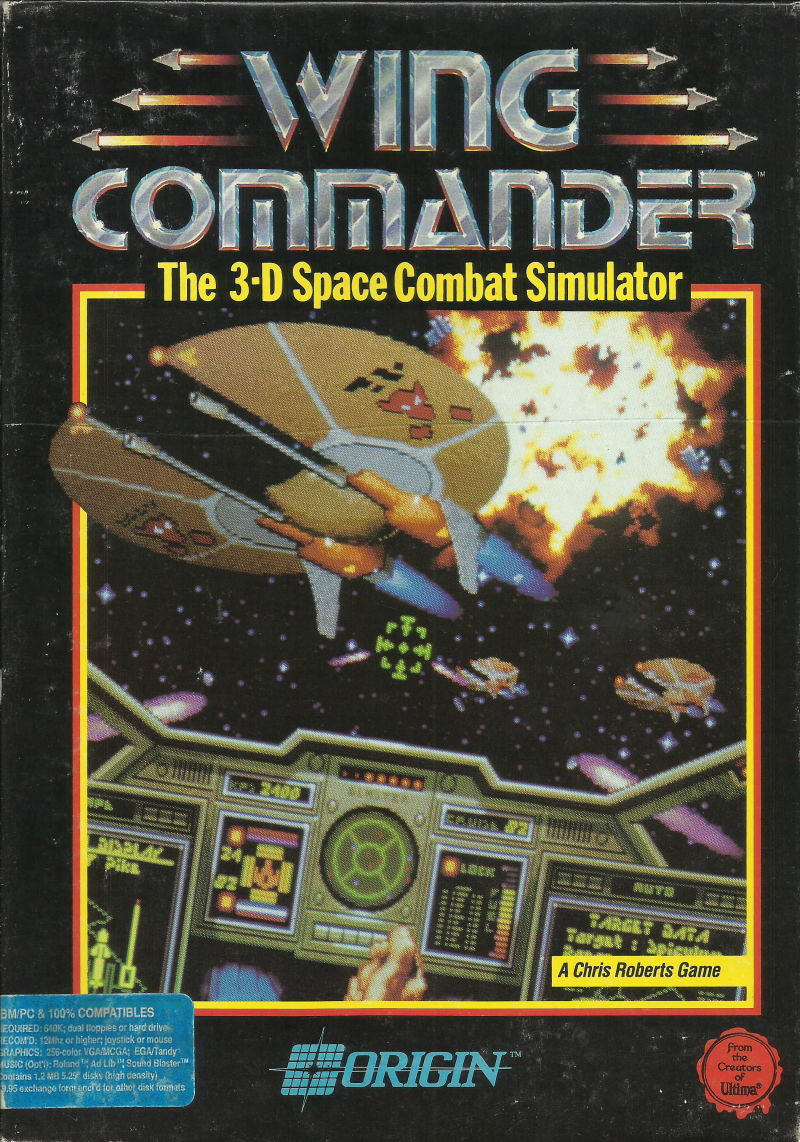 Wing Commander For Dos 1990 Mobygames