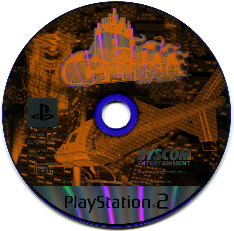City Crisis PlayStation 2 Media