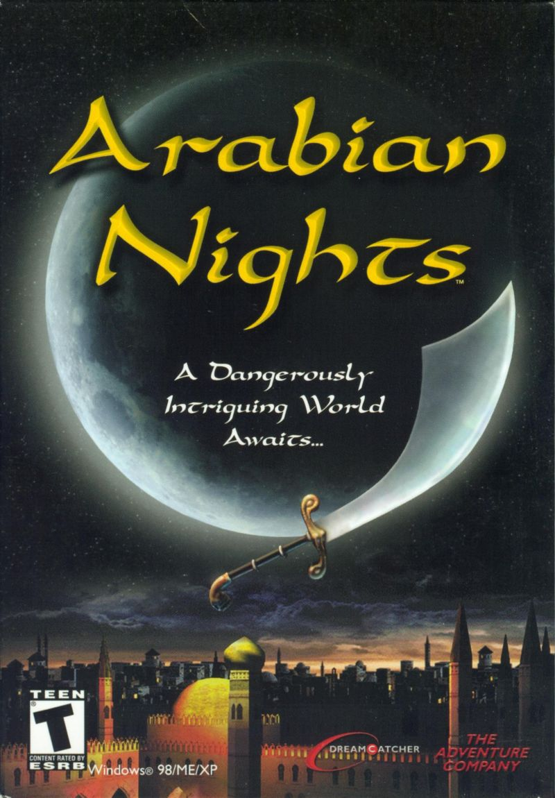 Arabian Nights Windows Front Cover
