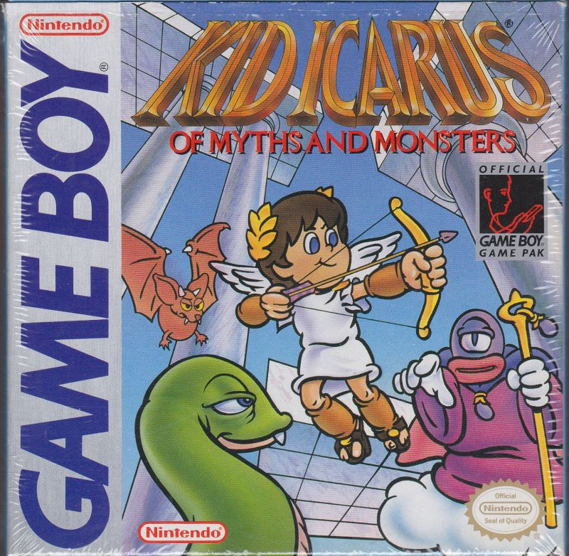Kid Icarus Of Myths And Monsters Game Boy Front Cover