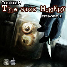 Cognition: An Erica Reed Thriller - Episode 2: The Wise Monkey Macintosh Front Cover