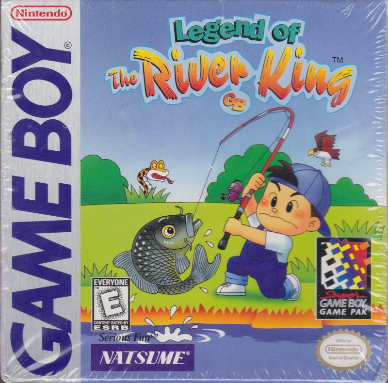 Legend of the River King GB Game Boy Front Cover