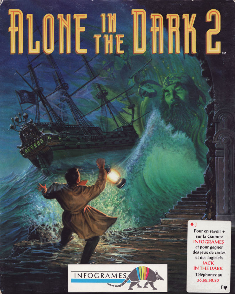 Alone In The Dark 2 1993 Dos Box Cover Art Mobygames