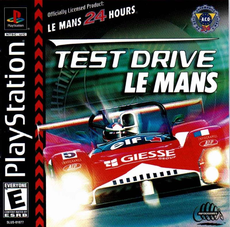 test drive le mans for playstation 1999 mobygames