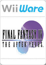 Final Fantasy IV: The After Years Wii Front Cover