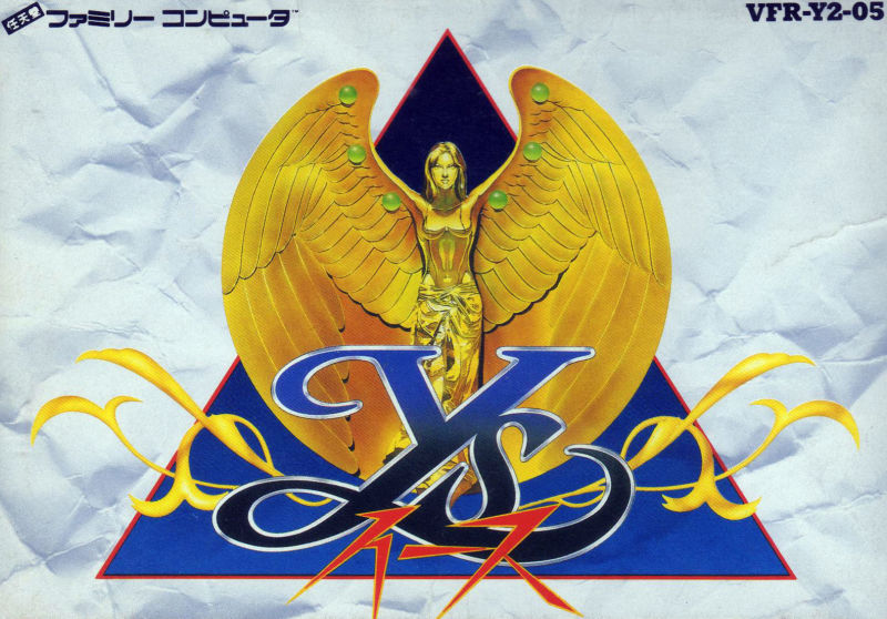 Ys: The Vanished Omens NES Front Cover