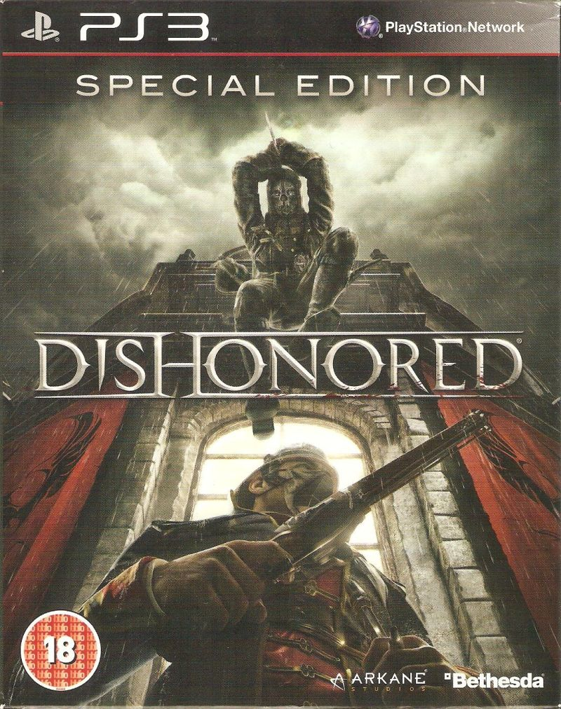 Dishonored (Special Edition) PlayStation 3 Front Cover