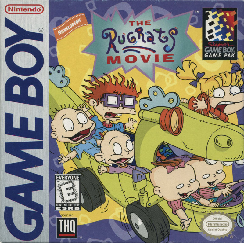 The Rugrats Movie For Game Boy 1998 Mobygames