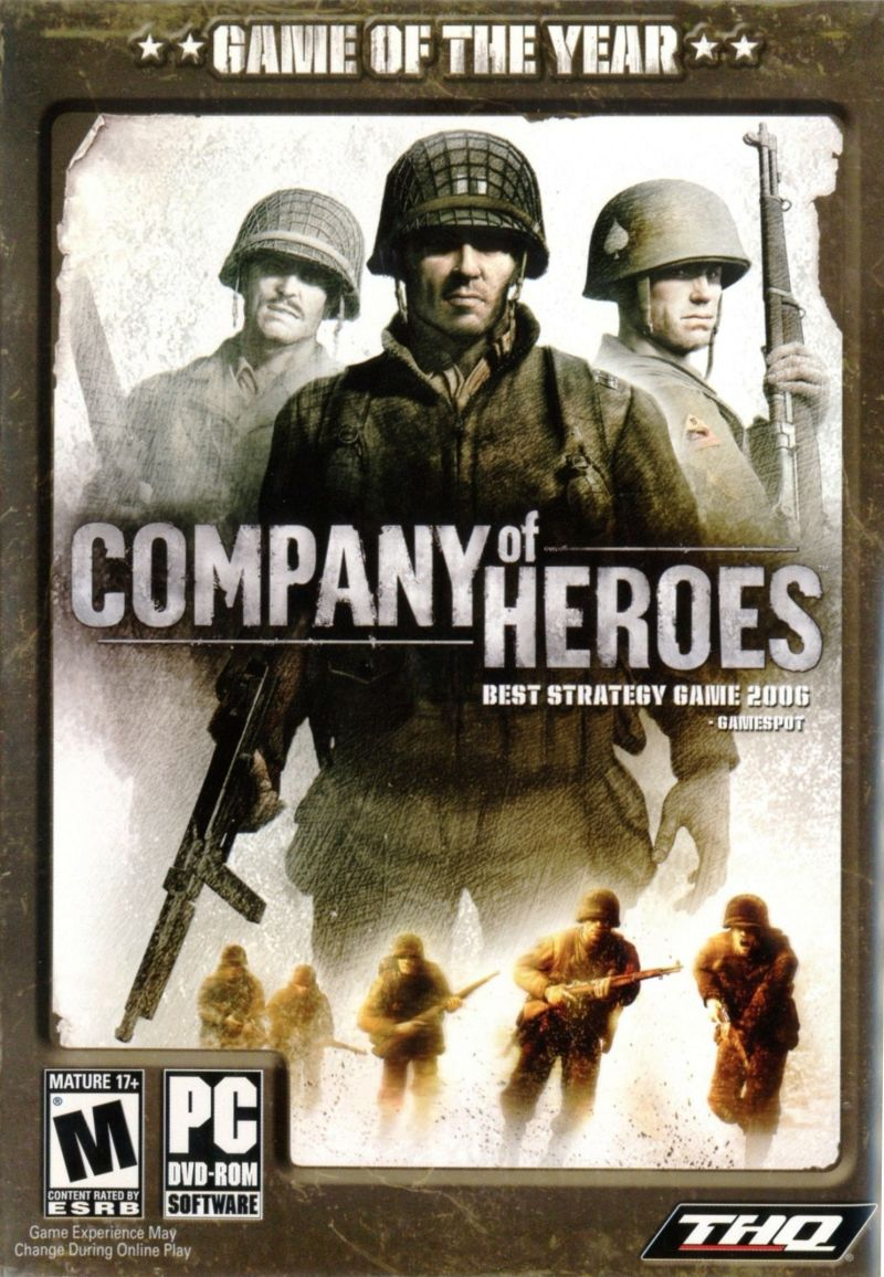 Company Of Heroes Game Of The Year 2007 Windows Box Cover Art