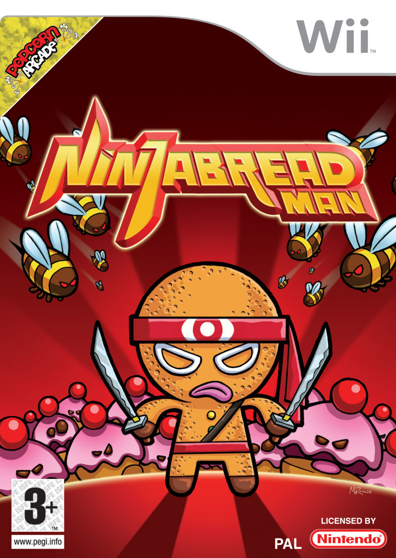 Ninjabread Man Wii Front Cover