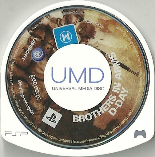 Brothers in Arms: D-Day PSP Media