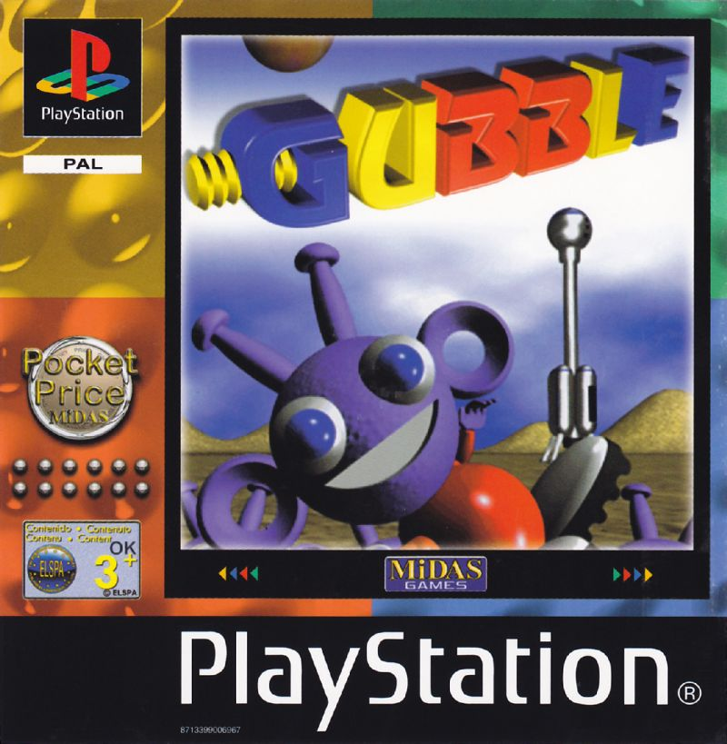 Gubble PlayStation Front Cover