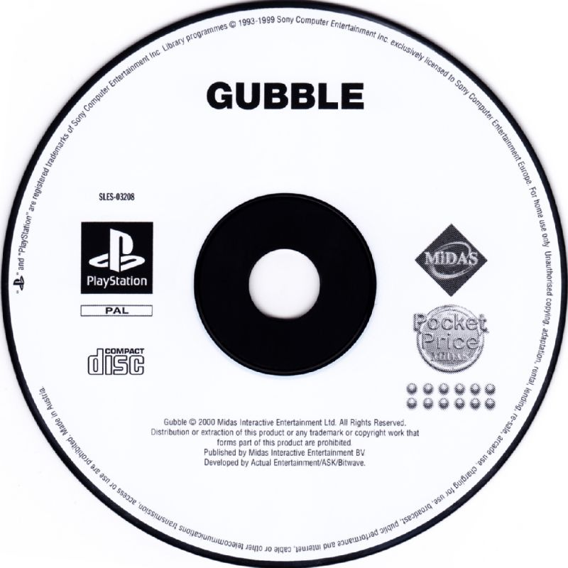 Gubble PlayStation Media
