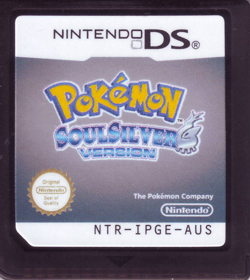 Pokémon: SoulSilver Version Nintendo DS Media