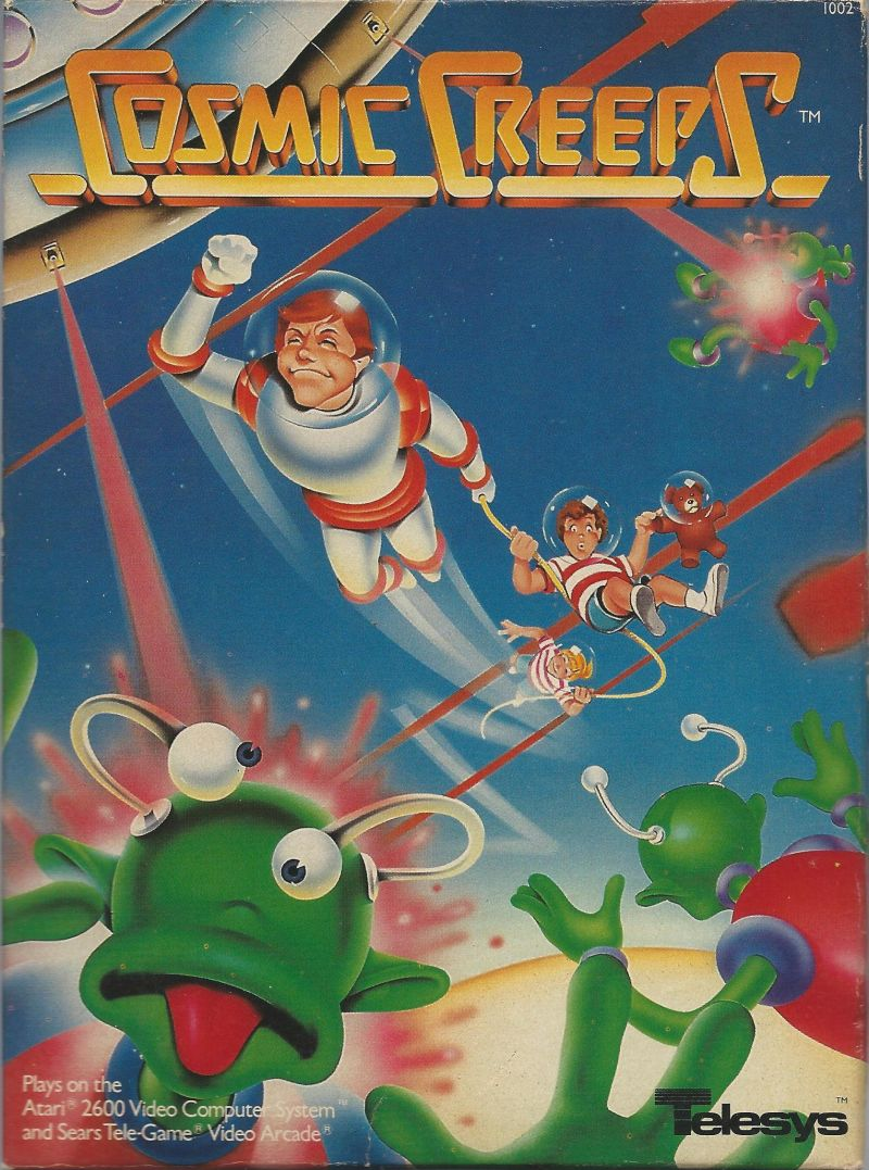 detailed pictures exquisite style special section Cosmic Creeps for Atari 2600 (1982) - MobyGames