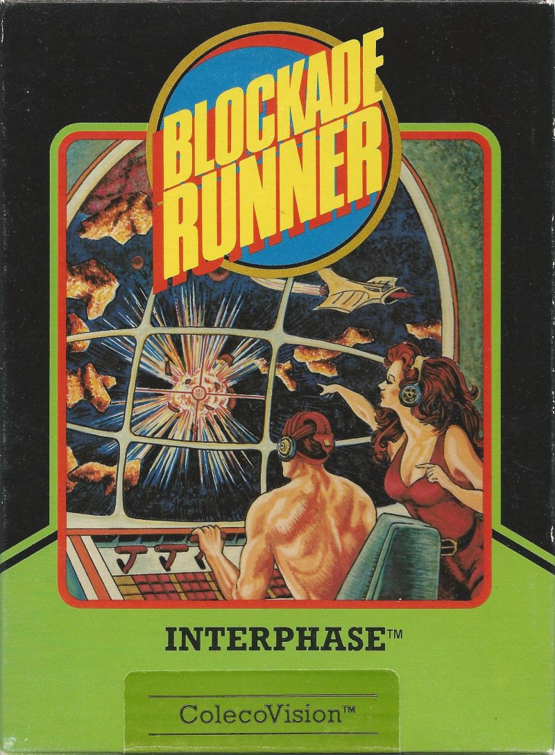 Blockade Runner ColecoVision Front Cover