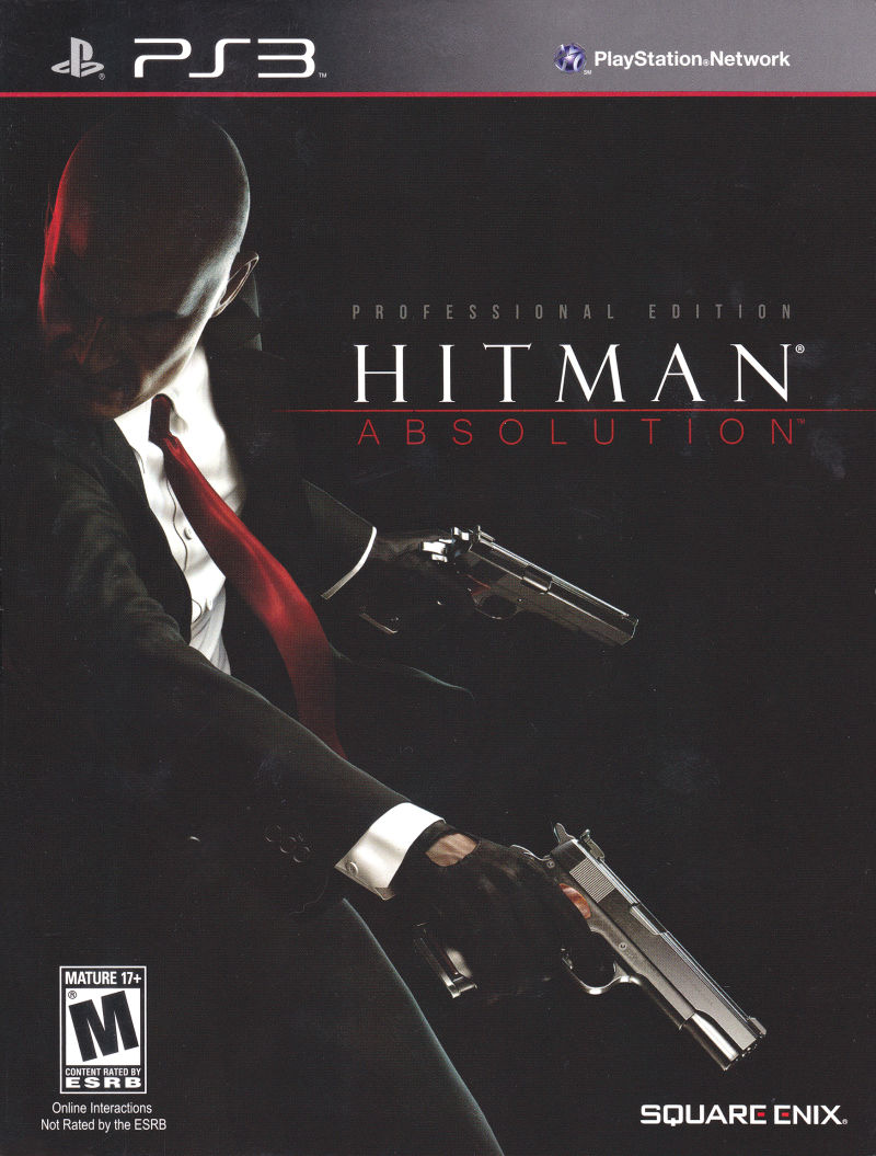 Hitman: Absolution (Professional Edition) PlayStation 3 Front Cover