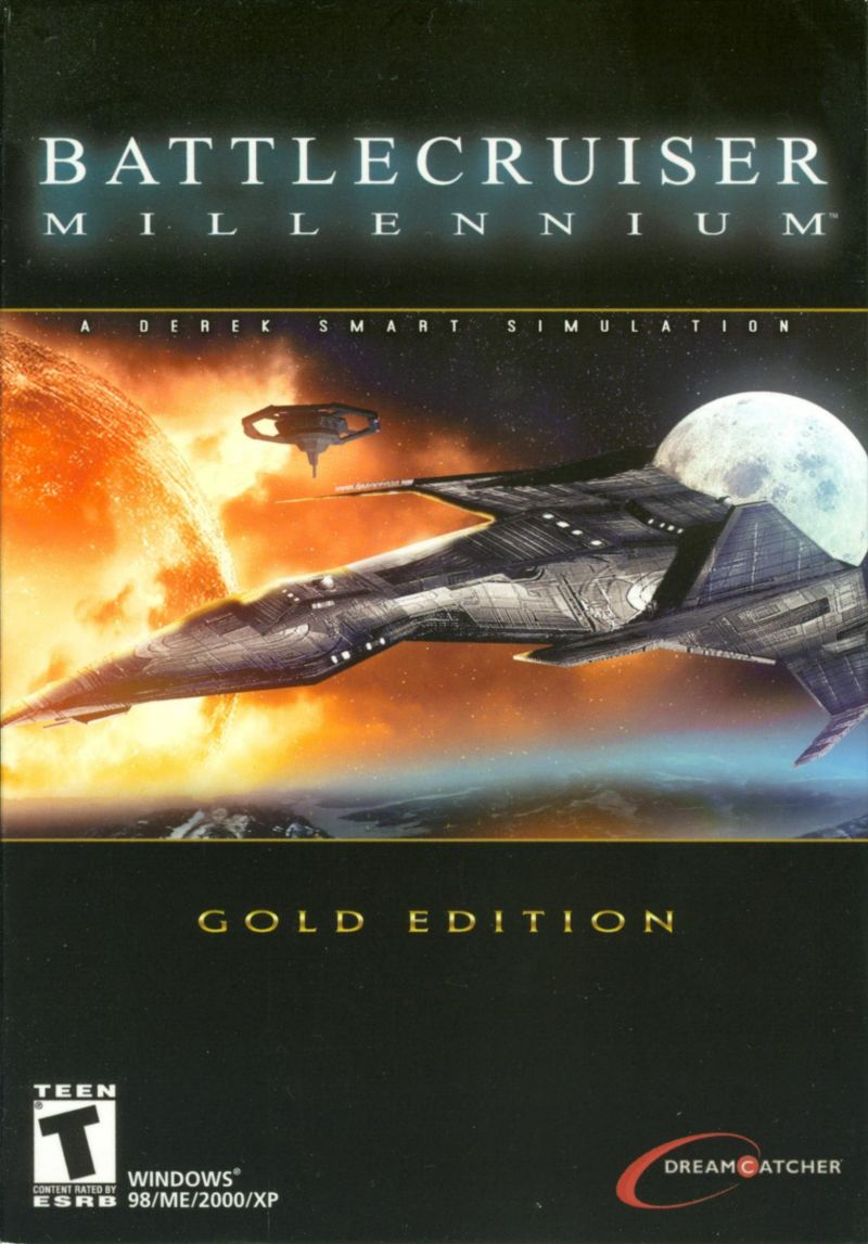 Battlecruiser Millennium (Gold Edition) Windows Front Cover