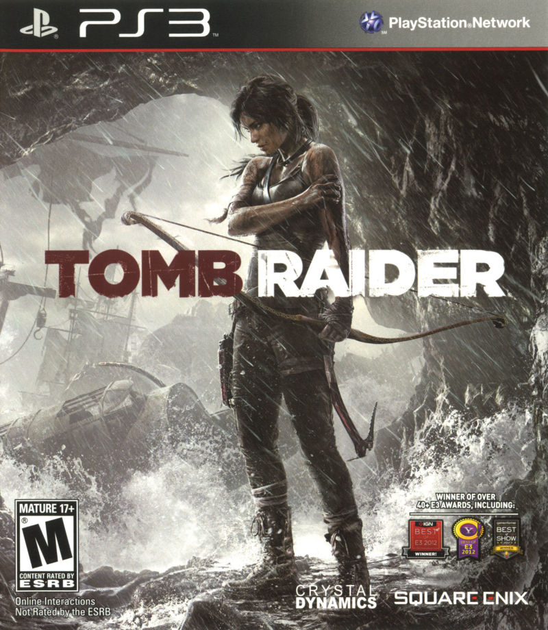 Tomb Raider PlayStation 3 Front Cover