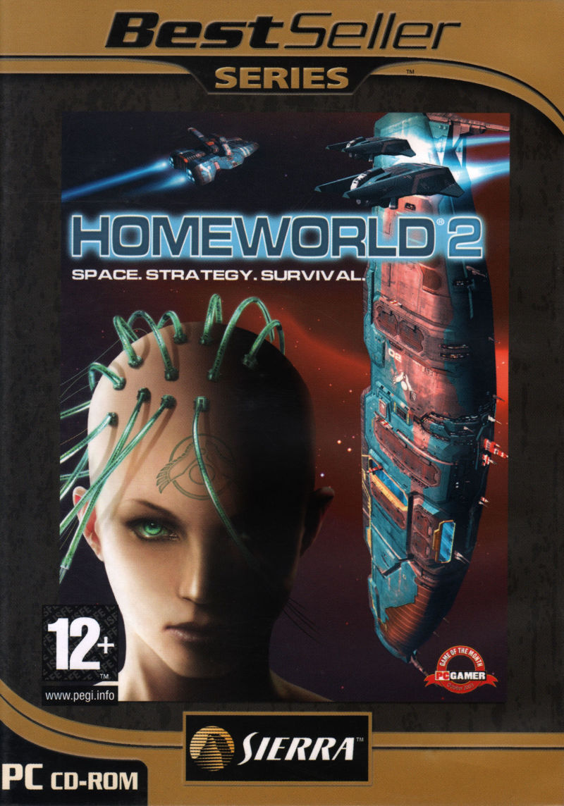 Homeworld 2 Windows Front Cover