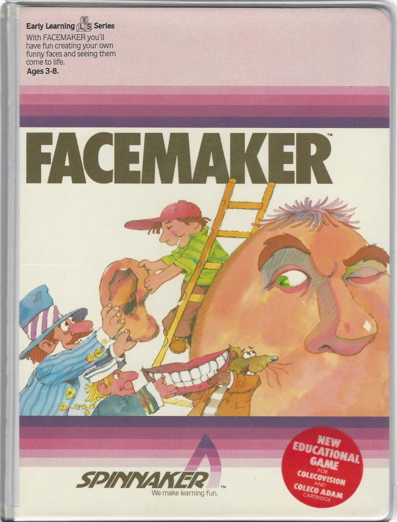 FaceMaker ColecoVision Front Cover