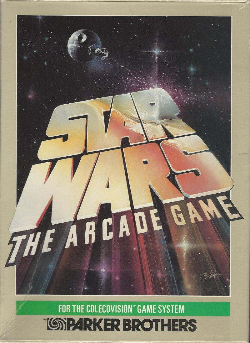 Star Wars ColecoVision Front Cover