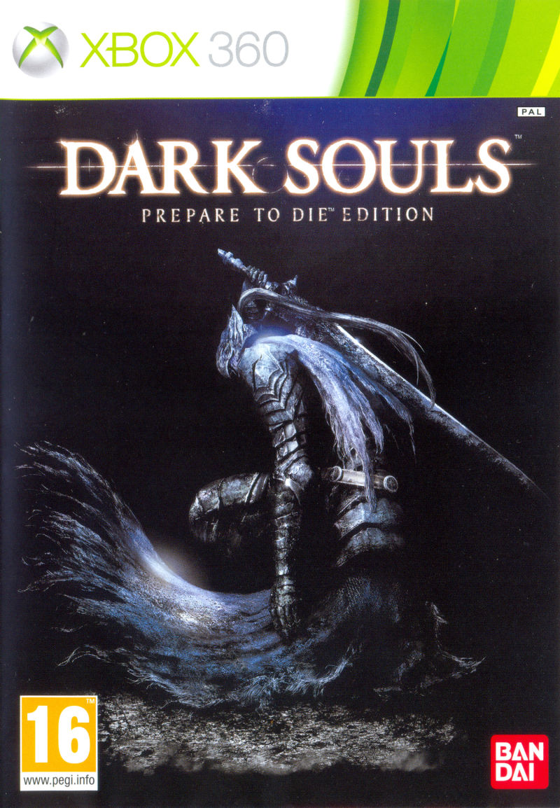 Dark Souls: Prepare to Die Edition Xbox 360 Front Cover