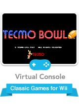 Tecmo Bowl Wii Front Cover