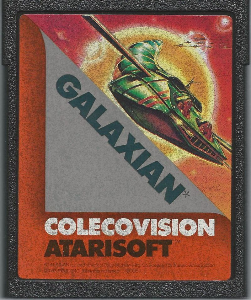 Galaxian ColecoVision Media