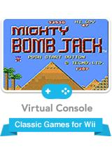 Mighty Bombjack Wii Front Cover