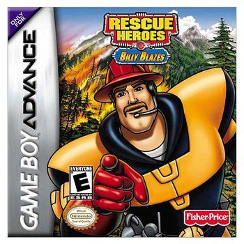 Rescue Heroes: Billy Blazes Game Boy Advance Front Cover