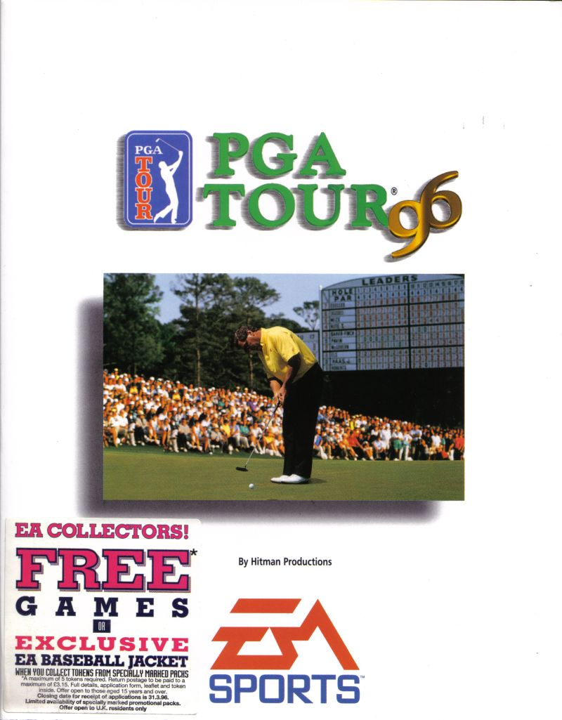 PGA Tour 96 DOS Front Cover