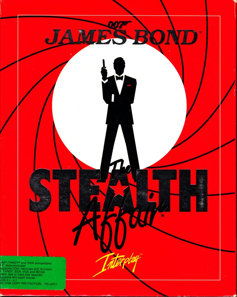 Quels sont les meilleurs James Bond ?? 261101-james-bond-the-stealth-affair-dos-front-covers